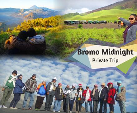 Gunung Bromo dengan 4 lokasi populer