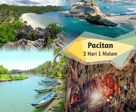 Pantai Klayar, Goa Gong, Pantai Srau, Pantai Watukarung
