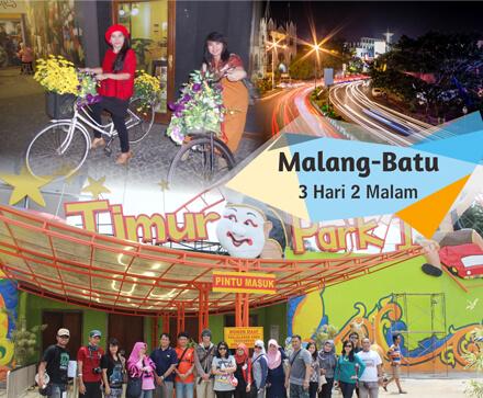 Jatim Park 2, BNS, Wisata Petik Apel, Air Terjun Coban Rondo, Alu-Alun Tugu Malang