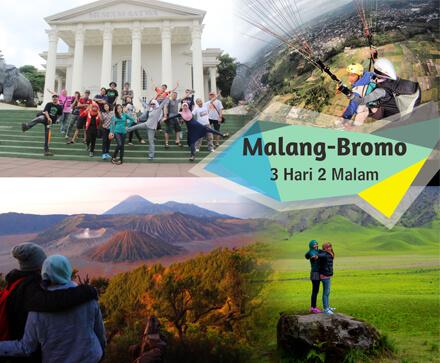 Paket Wisata terbaik di Malang, yaitu Paket Wisata Malang Bromo 3 hari 2 malam bersama Ongis Travel