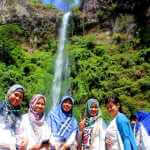 """Menikmati Indahnya """"Air Terjun Janda"""" di Malang"""