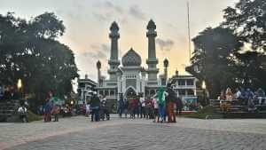 masjid jami kota malang