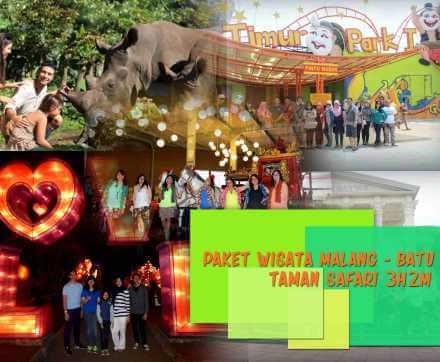 Paket Wisata Malang Batu Taman Safari Prigen Jawa Timur