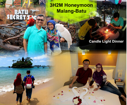 cover paket 3h2m honeymoon malang-batu