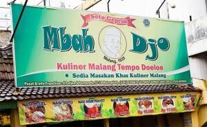 wisata kuliner legenda di malang soto geprak mba djo
