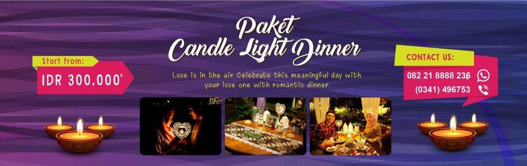 paket candle light dinner