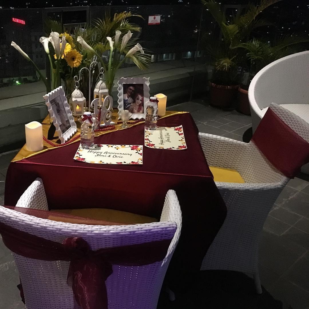 Dinner di Balava Hotel