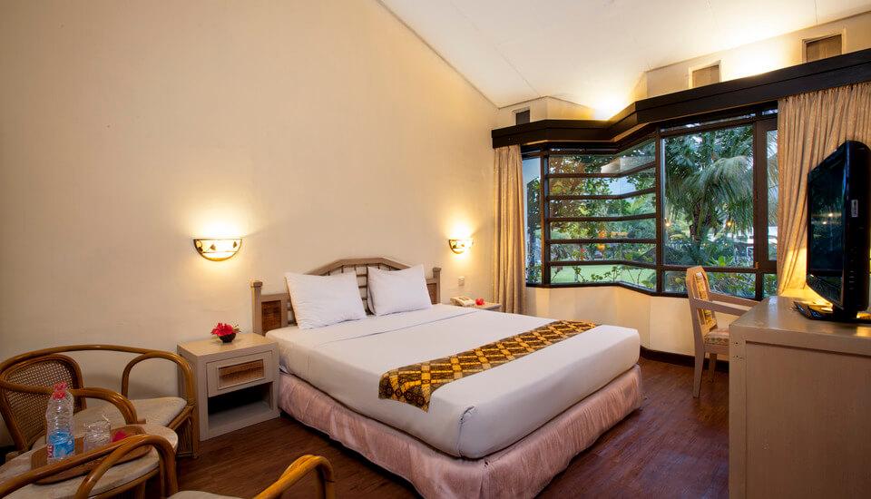 Kamar di Hotel Kartika Wijaya