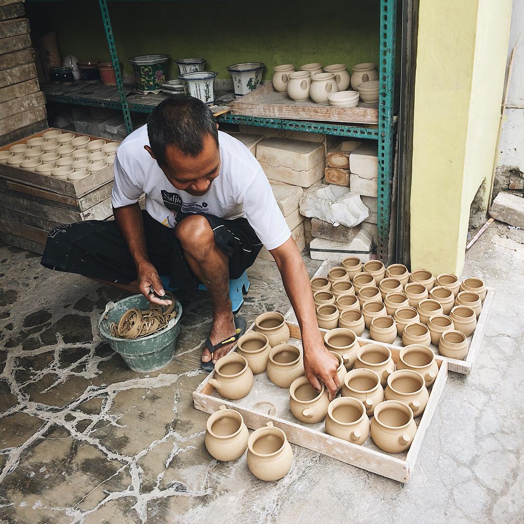 Wisata Keramik Dinoyo, Malang
