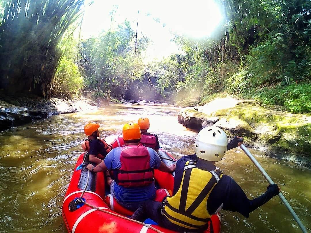 Rafting di Kaliwatu