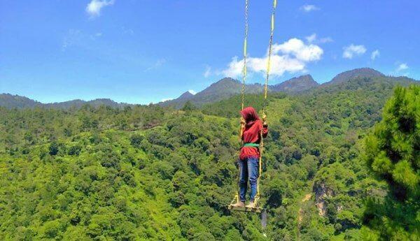 Spot foto di ketinggian Malang