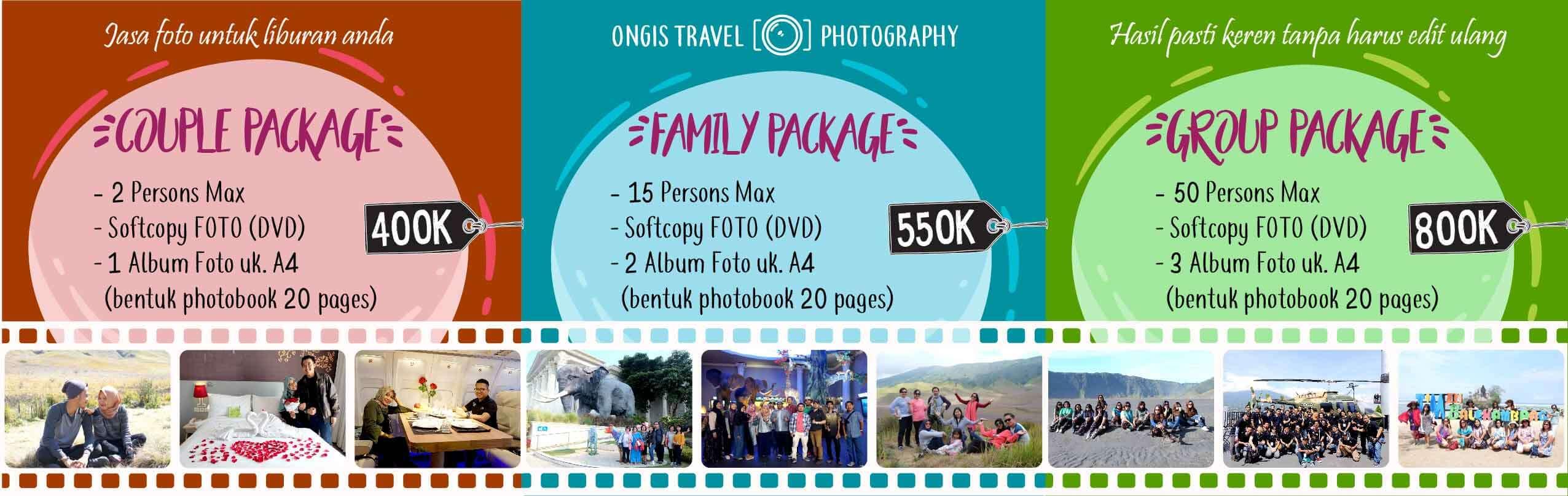 Jasa Foto Liburan Wisata di Malang