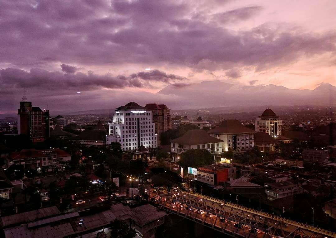 Pemandangan dari Everyday Smart Hotel