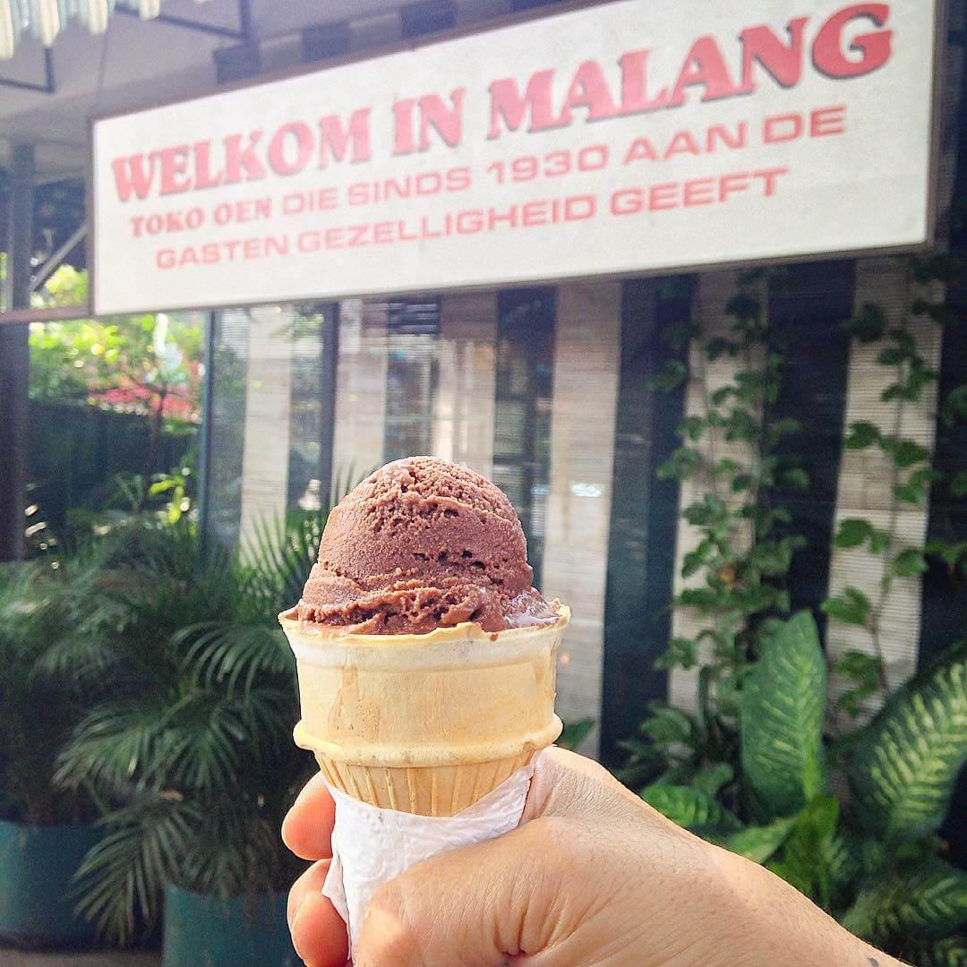 Es di Toko Oen, Malang