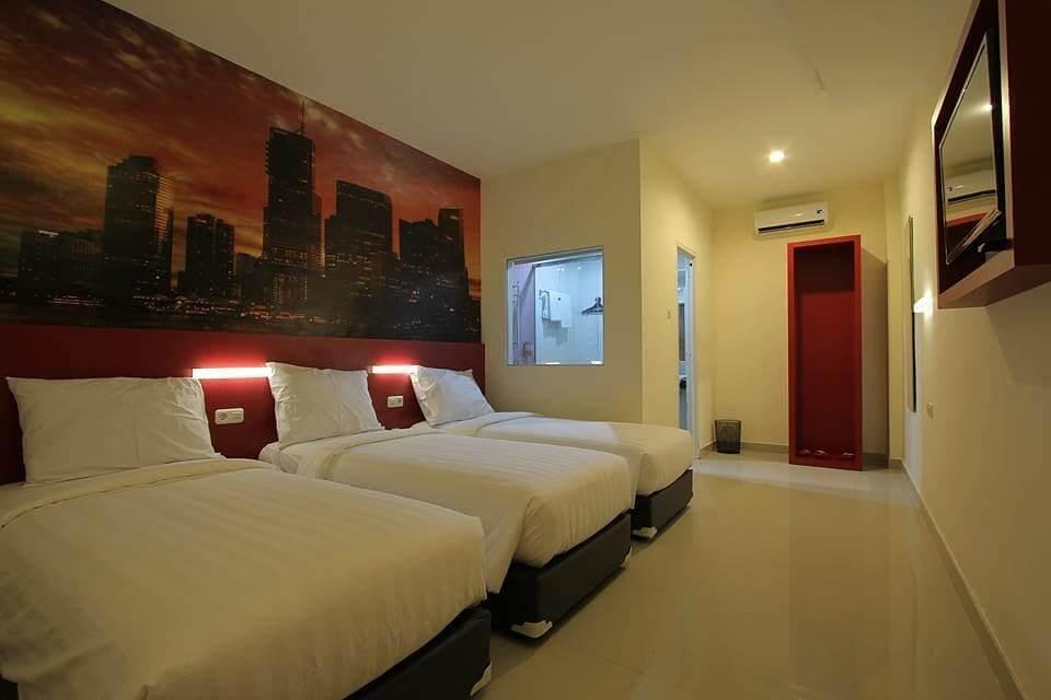 Kamar di Fariz Hotel