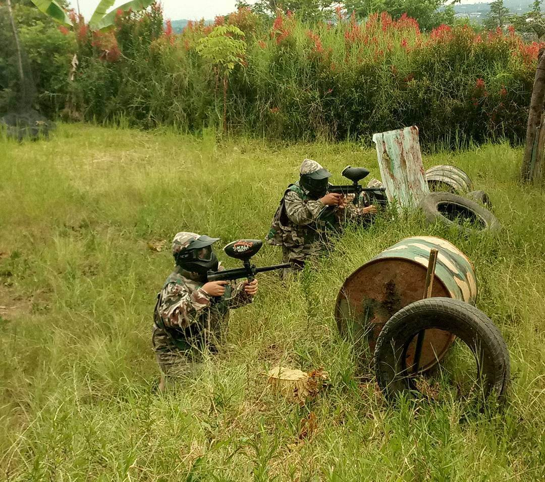 Paintball di Kaliwatu