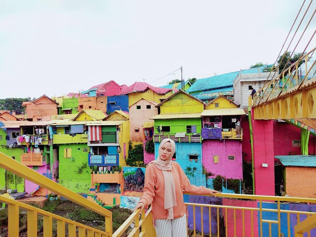 kampung warna warni @novia_damai