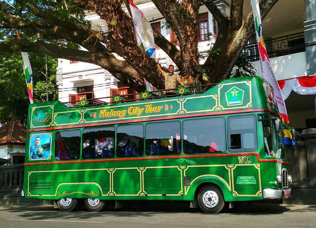 malang city tour bus