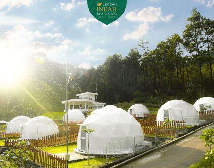 camping di lembah indah gunung kawi